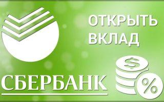Открытие вклада в Сбербанк Онлайн: пошаговая инструкция