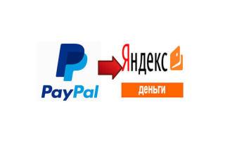 Перевод средств с PayPal на Яндекс.Деньги: основные способы