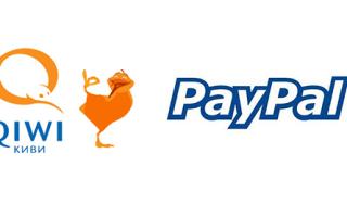 Процедура перевода денег с платежной системы PayPal на кошелек QIWI