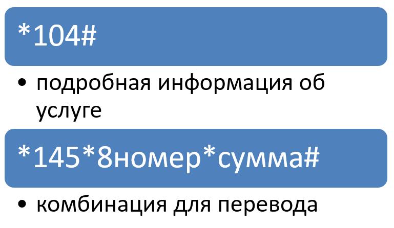 Команда для перевода