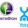 Перевод средств с Йоты на Мегафон: удобные способы
