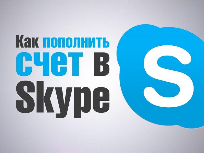 Как пополнить Скайп