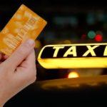 Оплата такси картой