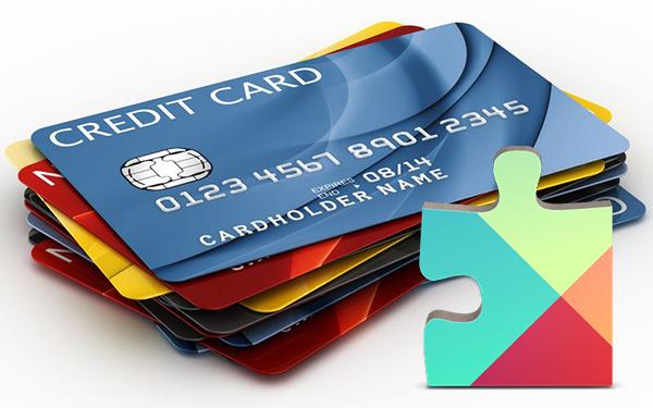 Платежные средства в Google Play