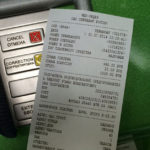 Печать чек в банкомате