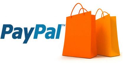 Оплата покупок Paypal