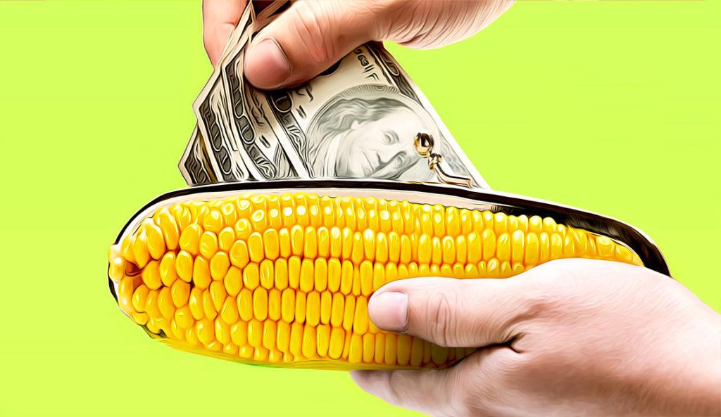 Кукуруза удалить данные о переводе